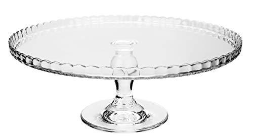 Cam Pazarlama 95117 - Bandeja cristal pie 32 cm