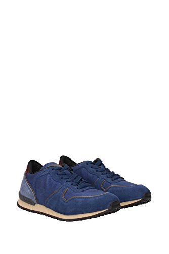 Tods Sneakers Uomo - Tessuto (XXM0VJ0L8109UB) EU Blu