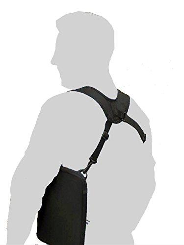 Tab Holster funda con correa Tablets hasta 10.1pulgadas, bolso, bols