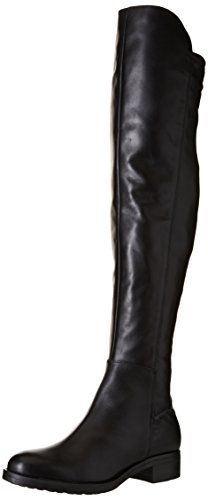 Donna Piu 9165 Lia, Bottes Souples Femme Noir (Quero Nero/Nappa Stretch Nero)