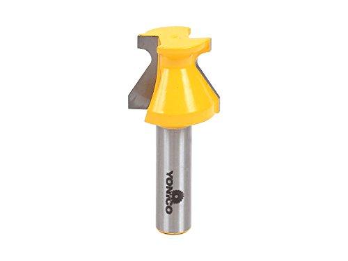 yonico 13128Tür Lip und Finger Grip Router Bit mit 1/2Zoll Schaft