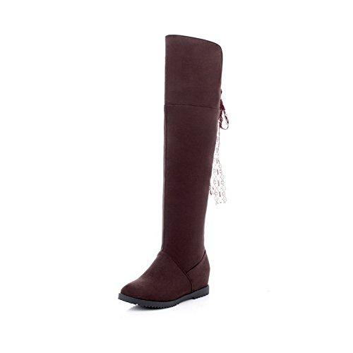 A&N ,  Damen Chukka Boots , braun - braun - Größe: 35.5 (Frauen All Boots Saints)