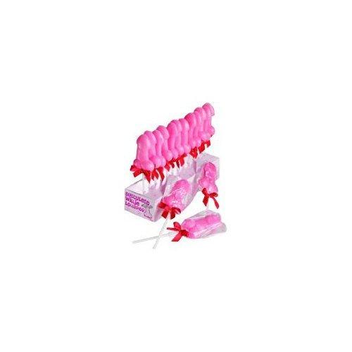 Lecca lecca Pisello Rosa - 7 cm