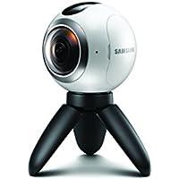 Samsung Gear 360 Actionkamera für Panorama-Videos und Fotos  - Weiß (Italien / Vereinigtes Königreich)