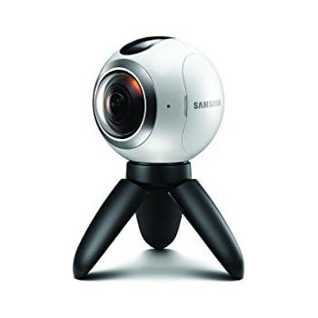 Samsung Gear 360 Actionkamera für Panorama-Videos und Fotos - Weiß (Italien/Vereinigtes Königreich)
