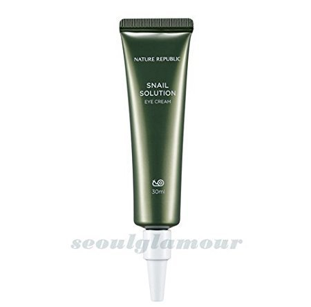 Nature Republic Snail Solution Eye Cream 30ml(1.01oz)whitening/wrinkle care