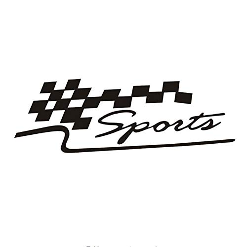 Zybnb Auto Und Motorrad Aufkleber Personalisierte Auto Aufkleber Reflektierende Garland Dekoriert Sport Rennen Flagge Auto Aufkleber3Ps