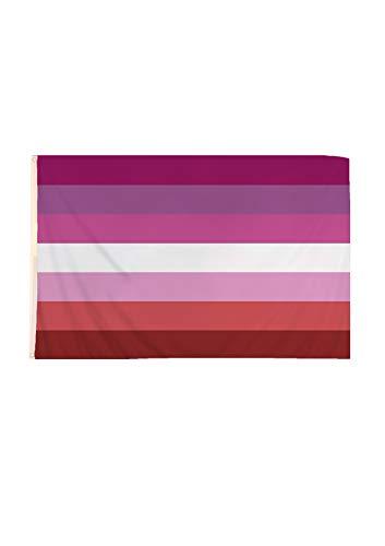 Zac's Alter Ego Lesbian Zubehor - Flagge Armband Abzeichen Gesicht Malen (Flag)