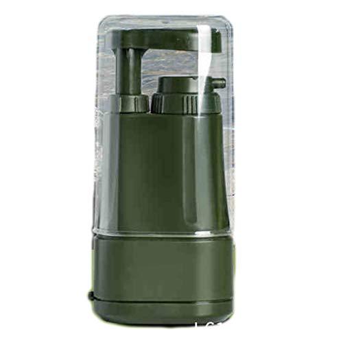 Outdoor Kläranlage Camping Tragbaren Filter Trinkwasser Bereich Wasseraufbereitung Ausrüstung -