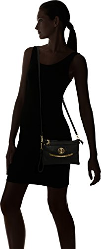 Swanky Swans - Kayla 3 Pocket, Borse a tracolla Donna Nero (Black)