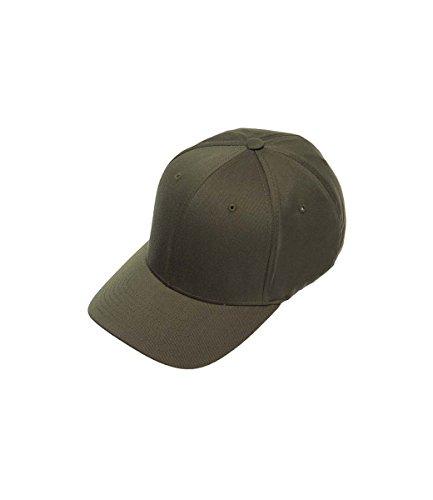 Flexfit Cap blanko, Größe:S/M, Farbe:olive