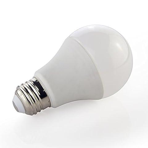 CMC LED Licht Lampe® 10W E27LED Leuchtmittel LED-Lichtern, 810Lumen, 6000K Cool Weiß, 230° Abstrahlwinkel, Ersatz für 80W A60Globe Leuchtmittel