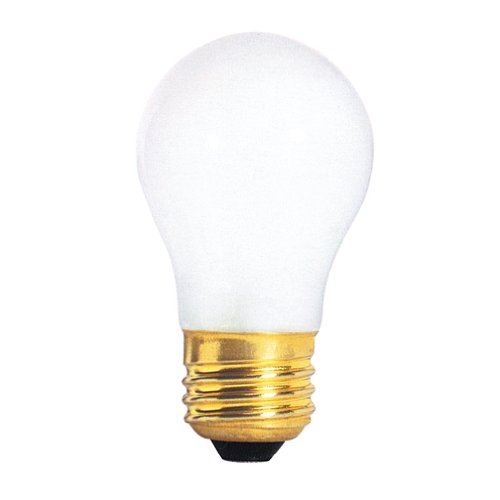 Bulbrite 40A15F 40-Watt Incandescent A15 Appliance Bulb, Frost by Bulbrite