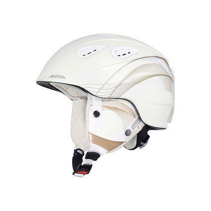 Alpina Erwachsene Skihelm Grap 2.0, White Prosecco Matt, 54-57 cm, 9085210