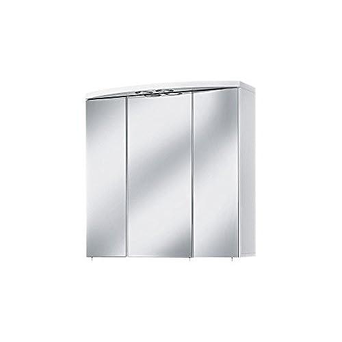 alibert spiegelschrank mit beleuchtung und steckdose