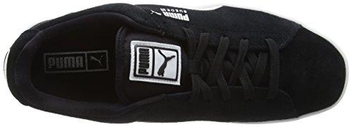 Puma SUEDE S Herren Sneakers Schwarz (black-white 03)