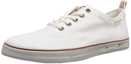 Columbia Vulc N Vent Lace, Sneakers basses homme Bianco (125)