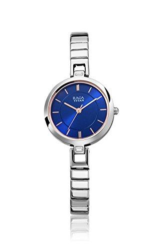 Titan Raga Viva Analog Blue Dial Women's Watch-2603SM01