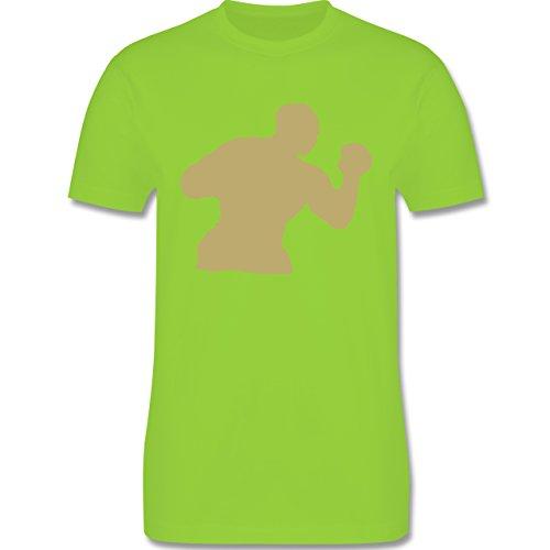 Kampfsport - Boxen - Herren Premium T-Shirt Hellgrün