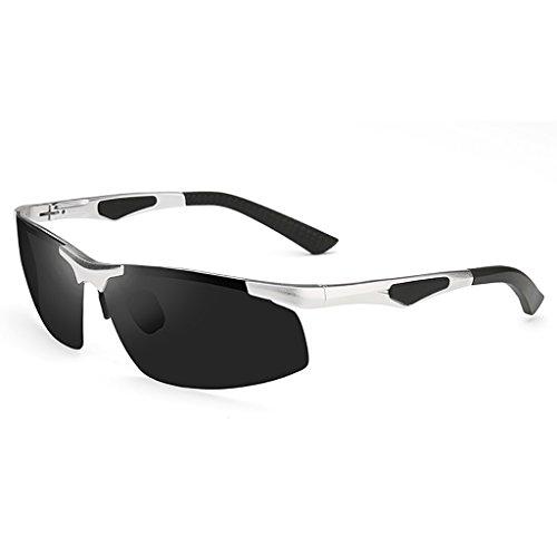 Ppy778 Polarisierte Sonnenbrille für Frauen Männer Vintage Designer Sonnenbrille für Urlaub Reisen, UV400 Schutz (Color : 2)