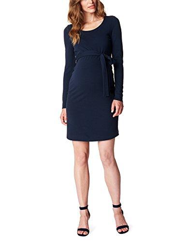esprit maternity kleid ESPRIT Maternity Damen Umstands Kleider Dress Ls O84280, Blau (Night Blue 486), 38 (Herstellergröße:M)