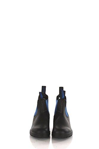 BLUNDSTONE 515 stivaletto elastici PELLE BLACK BLUE NERO BLU 515 37