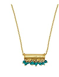 Jewel Cartel 925 Sterling Silver Pendant with Chain for Women and Girls Gemstone Jewellery