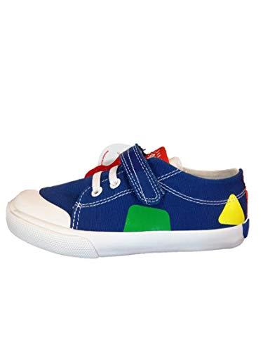 Garvalín 192806, Zapatillas para Niños, Azul (Lona) Paprika, 25 EU