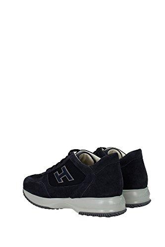 HXM00N0Q102R2Y9999 Hogan Sneakers Homme Tissu Bleu Bleu