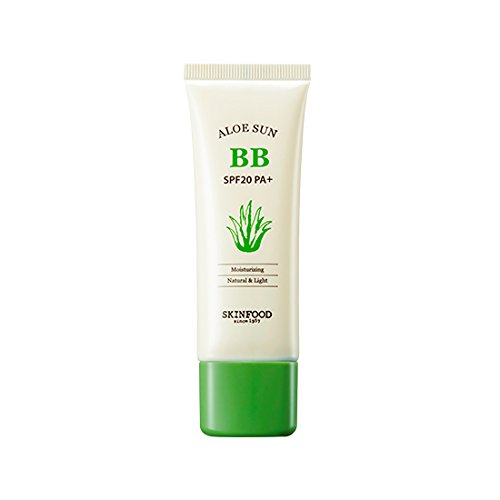 Skinfood,Aloe Sunscreen BB Cream SPF20 PA+(UV Protection) #1 Bright Skin 50g (Skinfood Bb Cream)