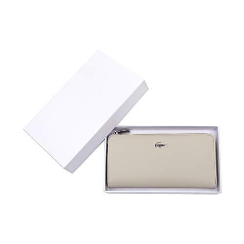 �rse aus Kunstleder - Slim Zip Wallet, 10x19x2,5cm (HxBxT) (Beige) ()