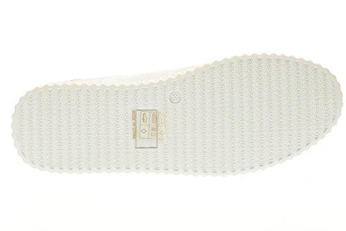 GOLD&GOLD chaussures basses de la femme avec des baskets FA102 plateforme BLANC Blanc