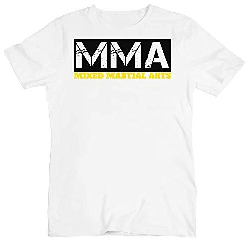 aa86ea64b9f69 idcommerce Mixed Martial Arts Acronym T-Shirt pour Hommes XX-Large