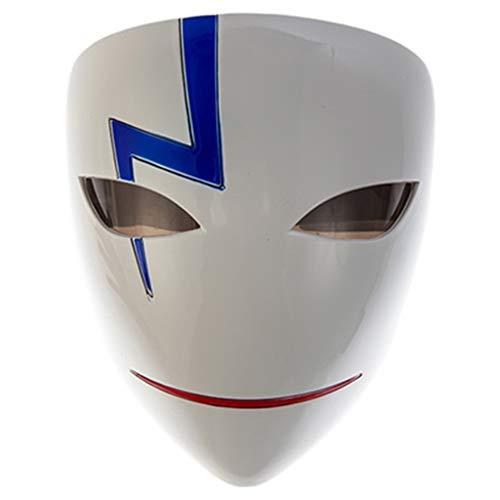 V For Vendetta Perücke Und Hut - IUYWL Halloween Maske Erwachsene Männer Vollgesichtsmaske