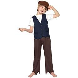 Traje de Carnaval pobre muchacho era victoriana película de Disney Mary Poppins niño