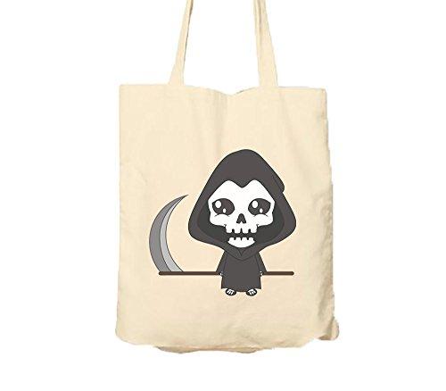 Kreepy Kinder Halloween Grim Reaper Tote Bag Tote Bags (Kostüm Grim Reaper)