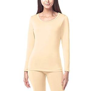 LAPASA Donna Maglia Termica - Ti Tiene al Caldo Senza Stress- T-Shirt Invernale Maniche Lunghe L15 1 spesavip