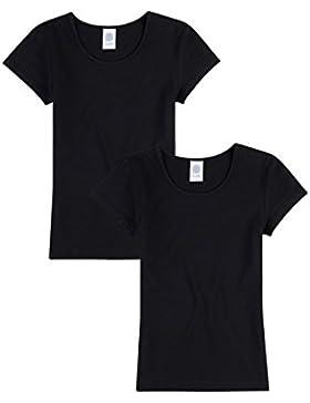 Sanetta Mädchen Unterhemd halbarm im Doppelpack 344700