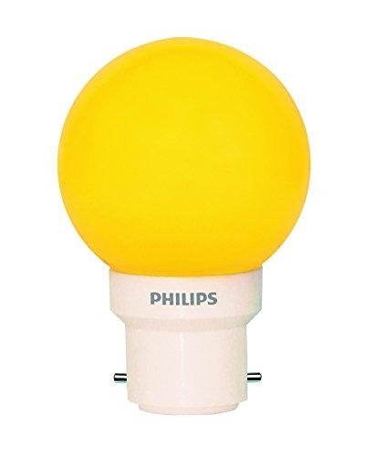 Philips Deco Mini 0.5-Watt B22 Base LED Bulb (Yellow)