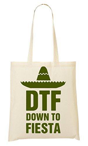 Dtf - Down To Fiesta Sac Fourre-Tout Sac À Provisions