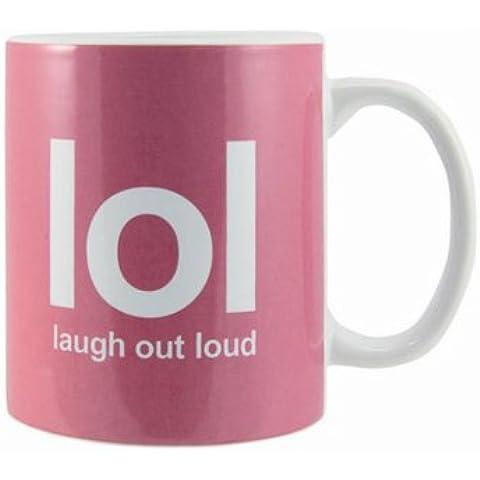 Taza de café TEXT Speak Mug–LOL