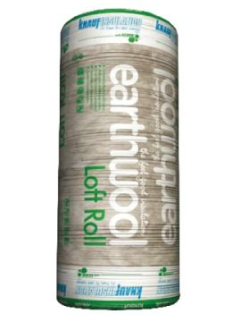 1x-insulation-loft-roll-knauf-earthwool-100mm-thickness-1389m2-per-roll-combi-cut