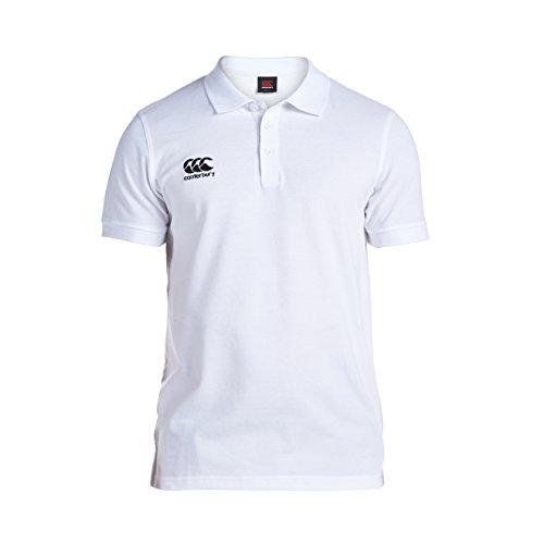 Canterbury Men's Waimak Polo Shirt - White, 2XL