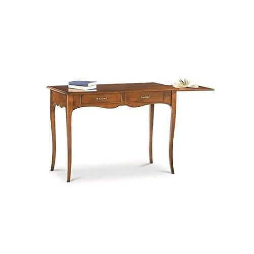 Estea mobili - tavolo legno consolle scrivania2 cassetti arte povera veneta col noce - 531