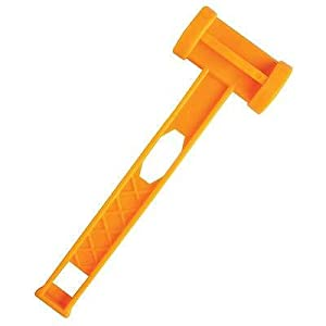 31LFwTO JLL. SS300  - Strong Durable Plastic Camping Tent Peg Hammer