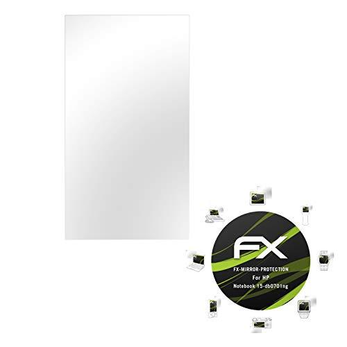 atFolix Bildschirmfolie kompatibel mit HP Notebook 15-db0701ng Spiegelfolie, Spiegeleffekt FX Schutzfolie