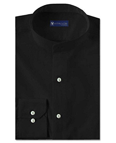 Vitruvien Men's Plain Casual shirt in Egyptian Giza Cotton