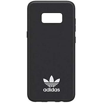 adidas Originals Moulded Case Handyhülle für Samsung Galaxy S8+ EDGE SchwarzWeiß BlackWhite