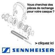 Sennheiser 077964 Noir 2pièce(s) mousse d'écouteurs - mousses d'écouteurs (2 pièce(s))