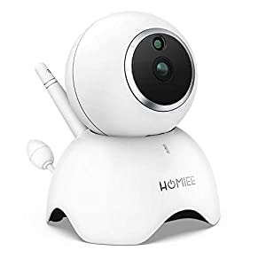 HOMIEE 720P Camera Exclusive for HOMIEE Baby Monitor, Two Way Audio, Night Vision, VOX, Lullaby, Sound & Temperature Alert, 1000ft Connection (Additional Camera)   14